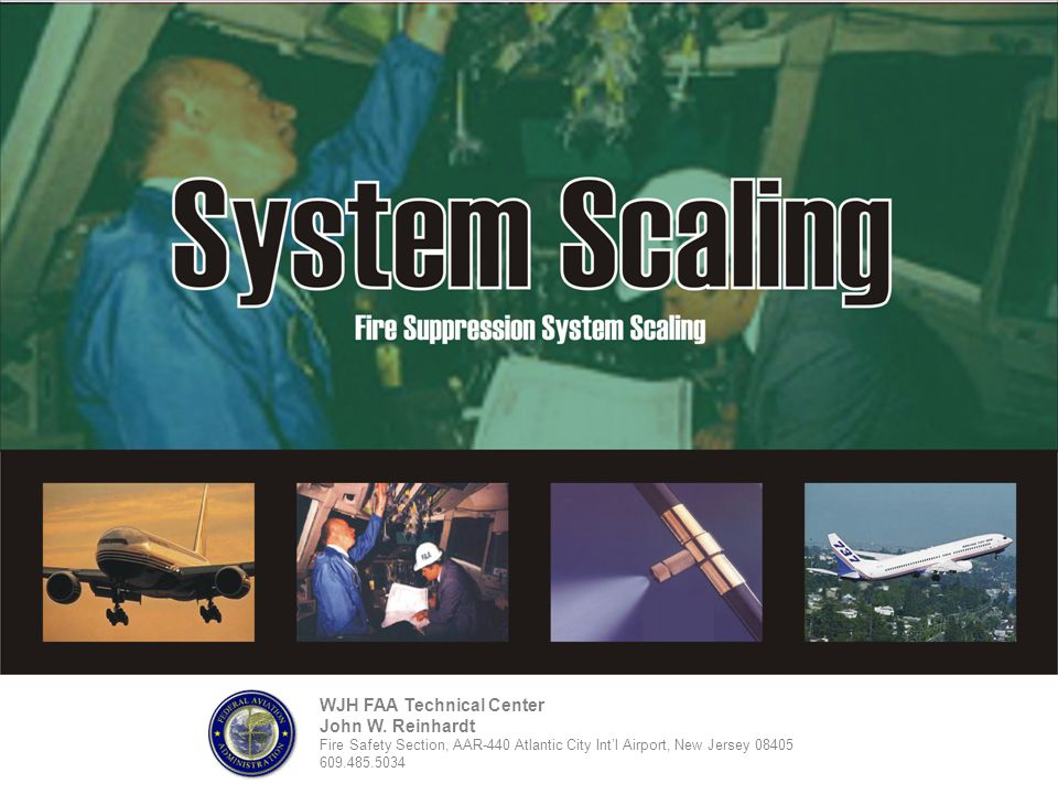 WJH FAA Technical Center John W. Reinhardt