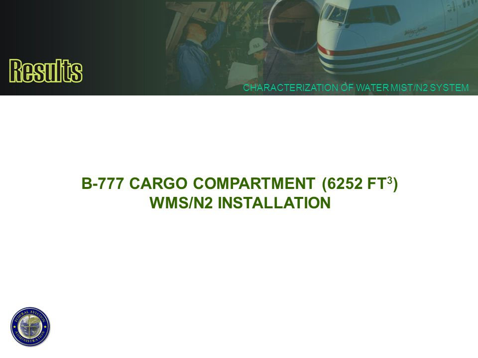 B-777 CARGO COMPARTMENT (6252 FT3)