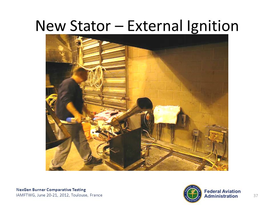 New Stator – External Ignition