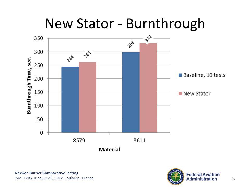 New Stator - Burnthrough