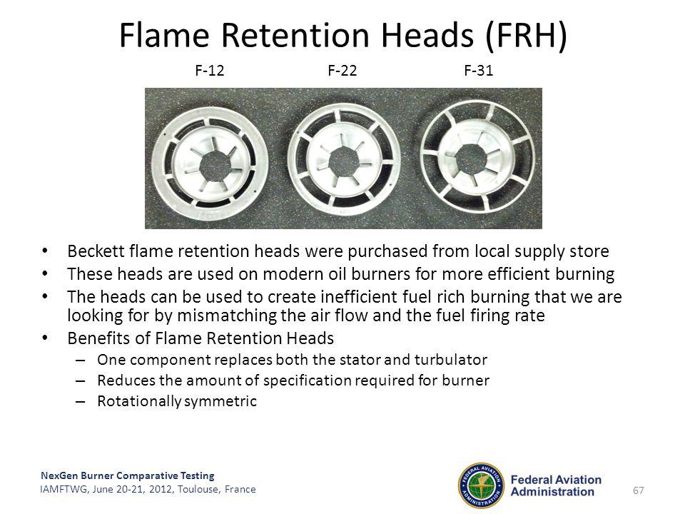 Flame Retention Heads (FRH)