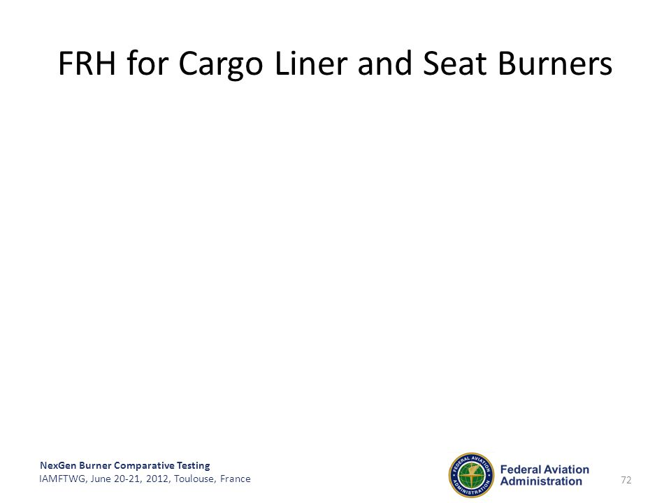 FRH for Cargo Liner and Seat Burners