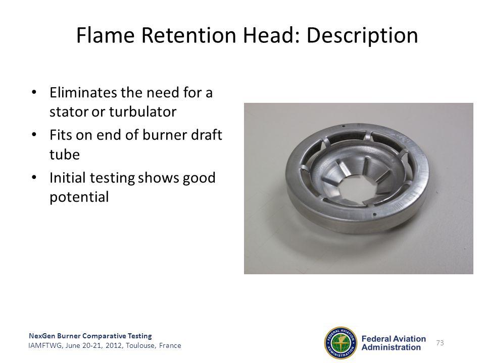 Flame Retention Head: Description