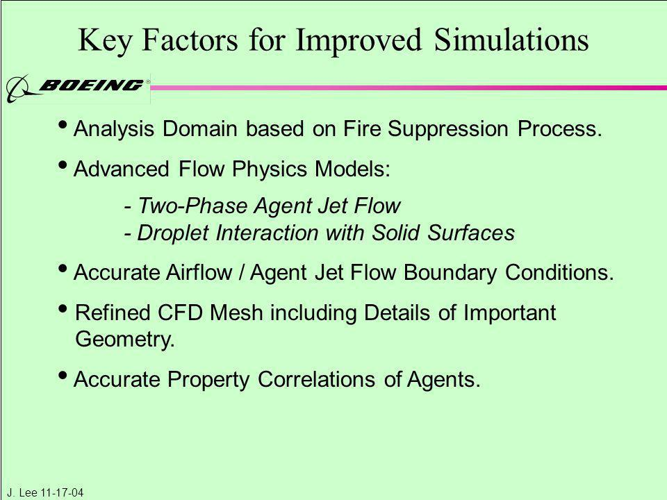 Key Factors for Improved Simulations