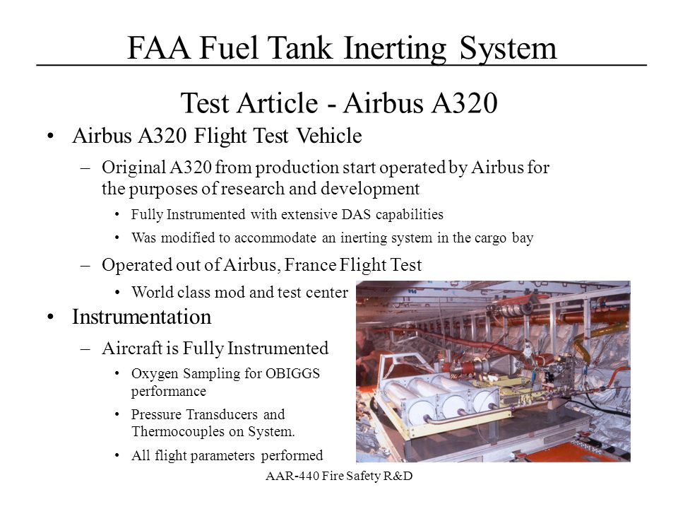 Test Article - Airbus A320 Airbus A320 Flight Test Vehicle
