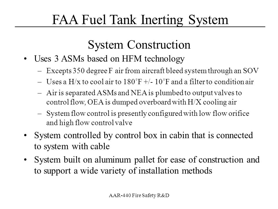 System Construction Uses 3 ASMs based on HFM technology