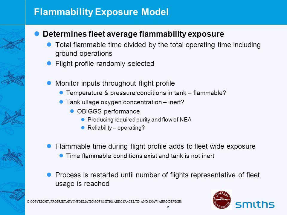 Flammability Exposure Model