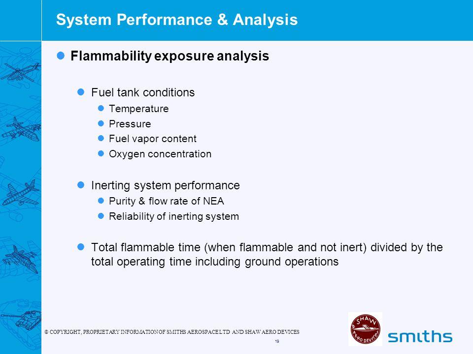 System Performance & Analysis