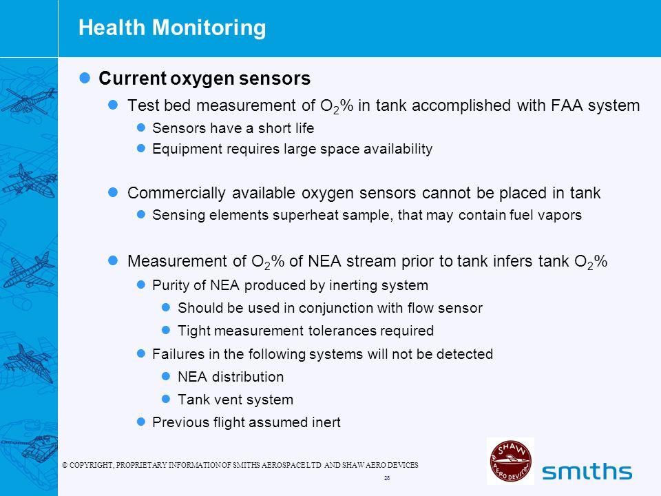 Health Monitoring Current oxygen sensors