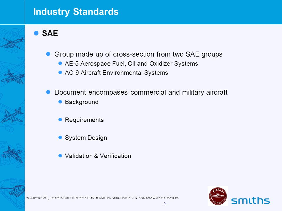 Industry Standards SAE