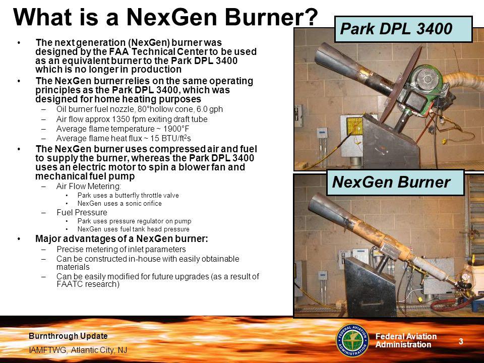 What is a NexGen Burner Park DPL 3400 NexGen Burner