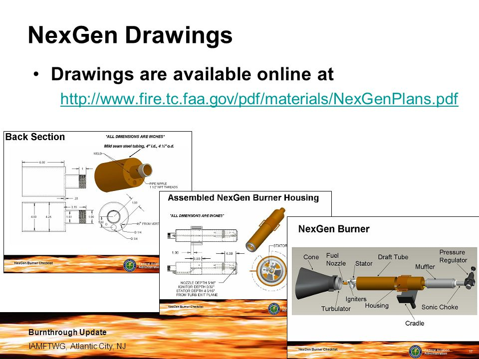 NexGen Drawings Drawings are available online at
