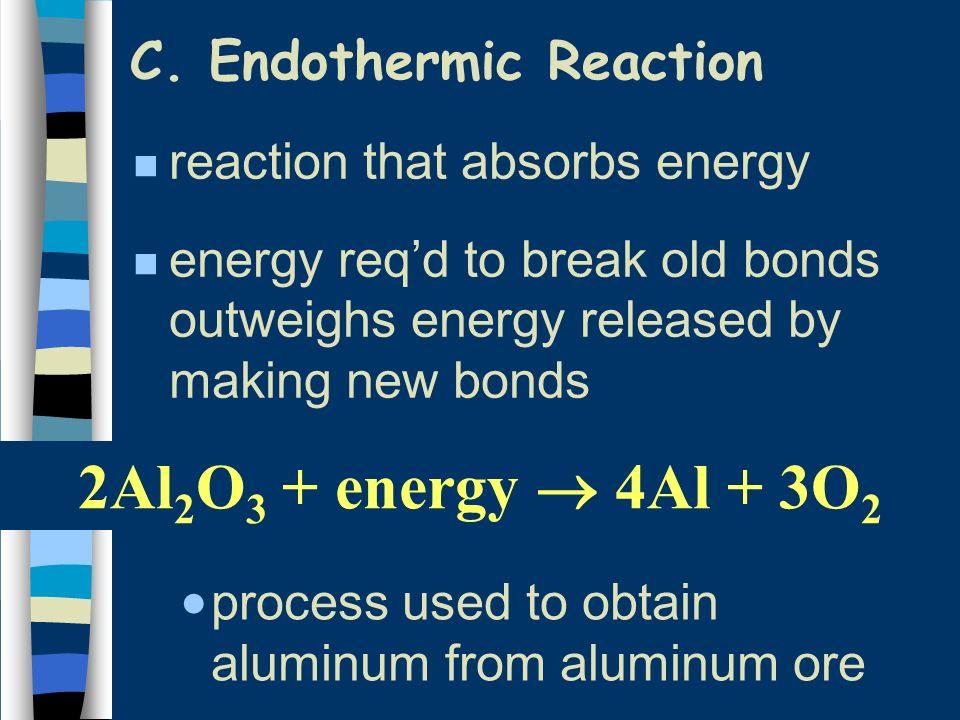 C. Endothermic Reaction