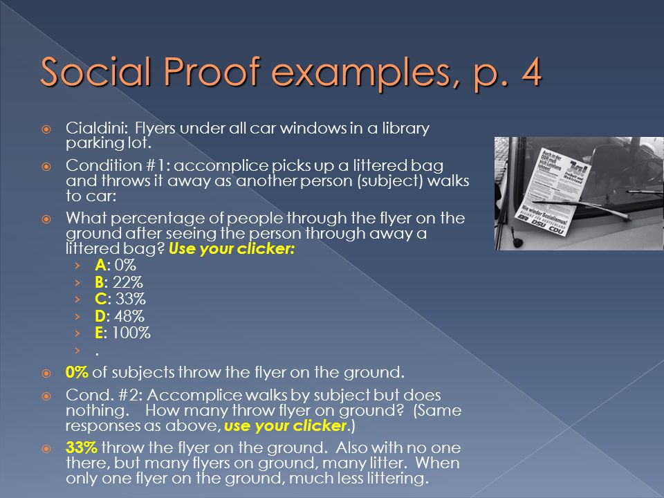 Social Proof examples, p. 4