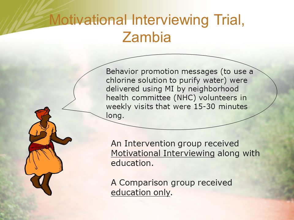 Motivational Interviewing Trial, Zambia