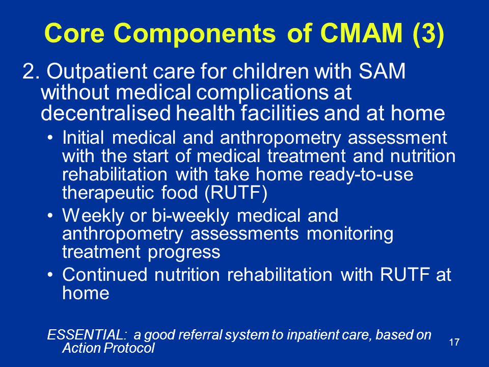 Core Components of CMAM (3)