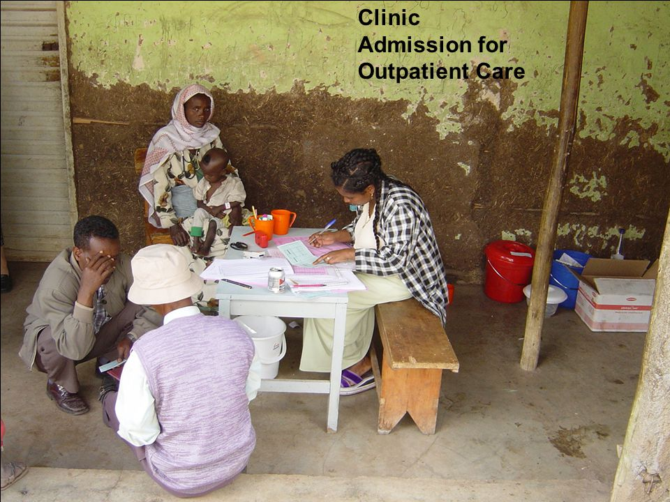 Clinic Admission for Outpatient Care