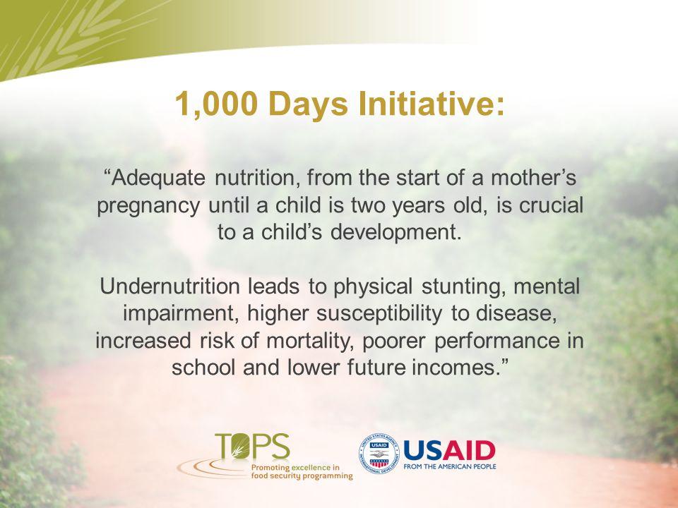 1,000 Days Initiative: