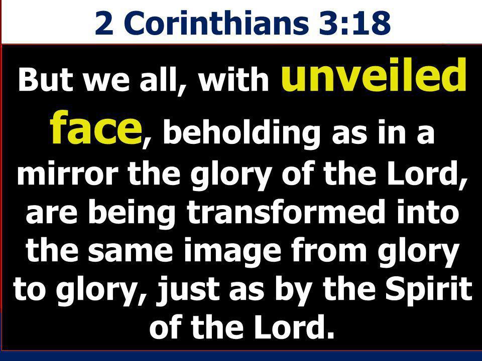 2 Corinthians 3:18