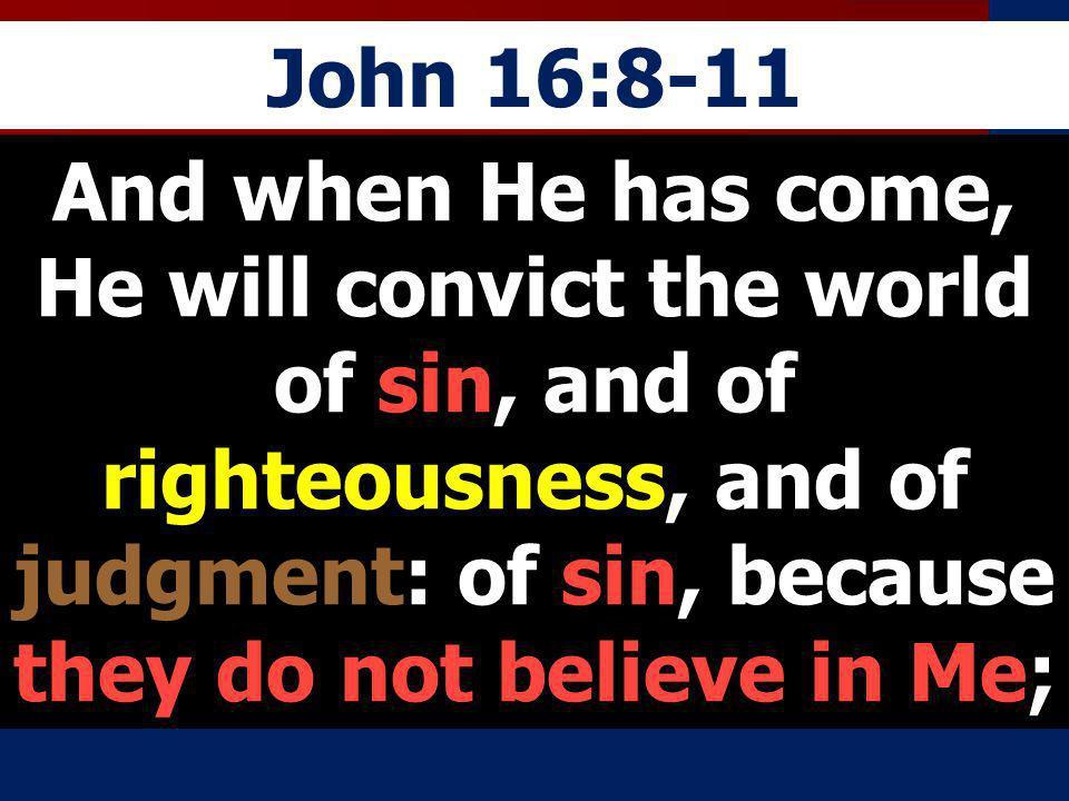 John 16:8-11