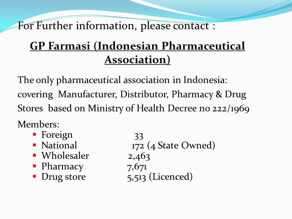 GP Farmasi (Indonesian Pharmaceutical Association)