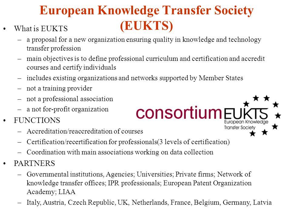 European Knowledge Transfer Society (EUKTS)