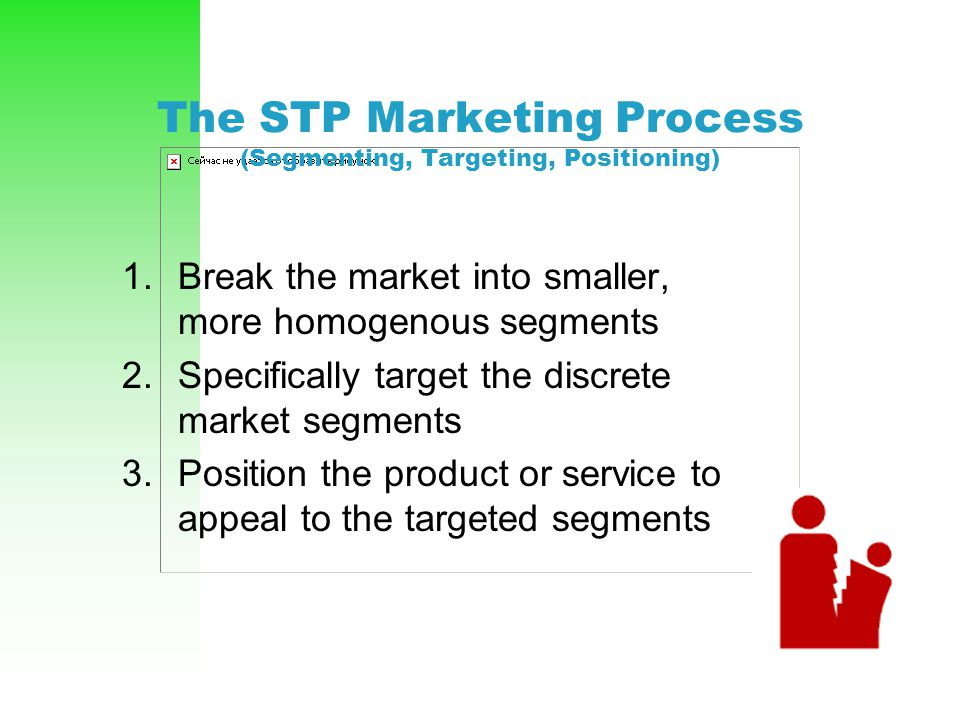 The STP Marketing Process (Segmenting, Targeting, Positioning)