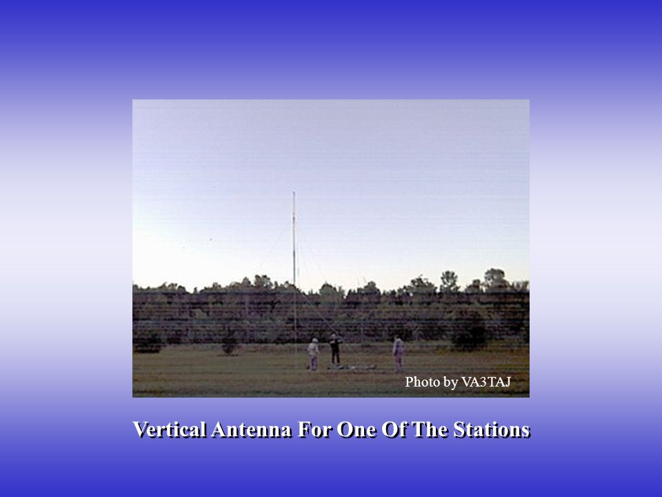 Vertical Antenna For One Of The Stations