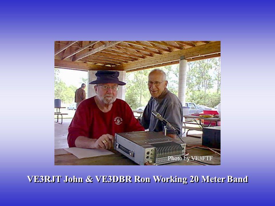 VE3RJT John & VE3DBR Ron Working 20 Meter Band