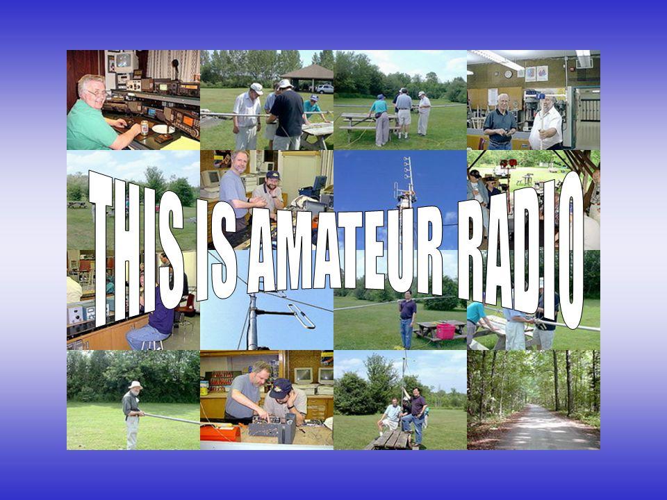 THIS IS AMATEUR RADIO