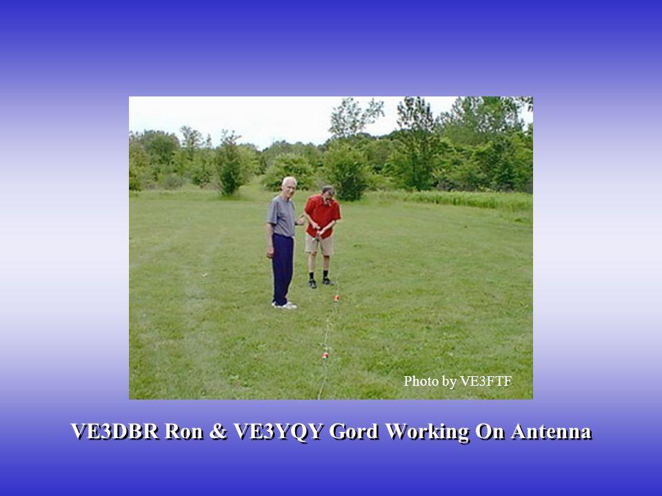 VE3DBR Ron & VE3YQY Gord Working On Antenna