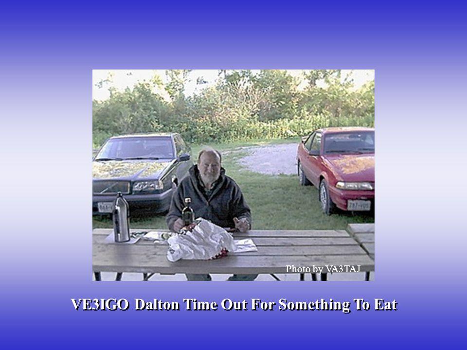 VE3IGO Dalton Time Out For Something To Eat
