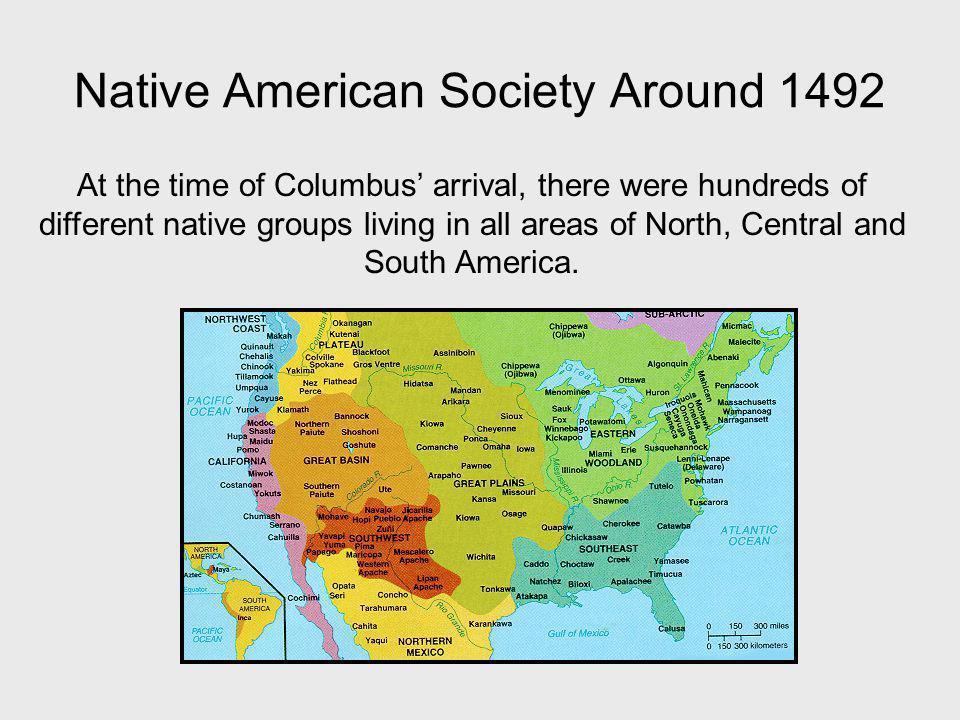 Native American Society Around 1492