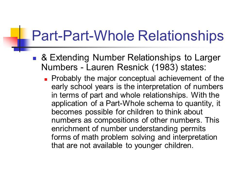 Part-Part-Whole Relationships