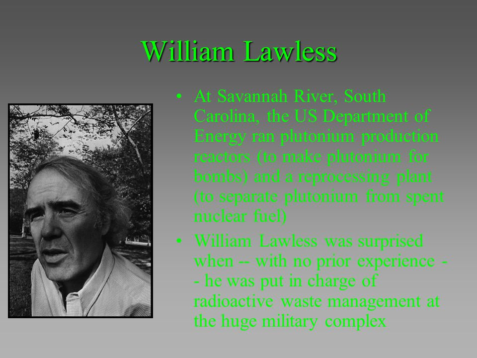 William Lawless