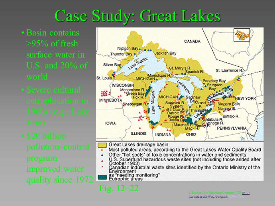 Case study of the great lakes