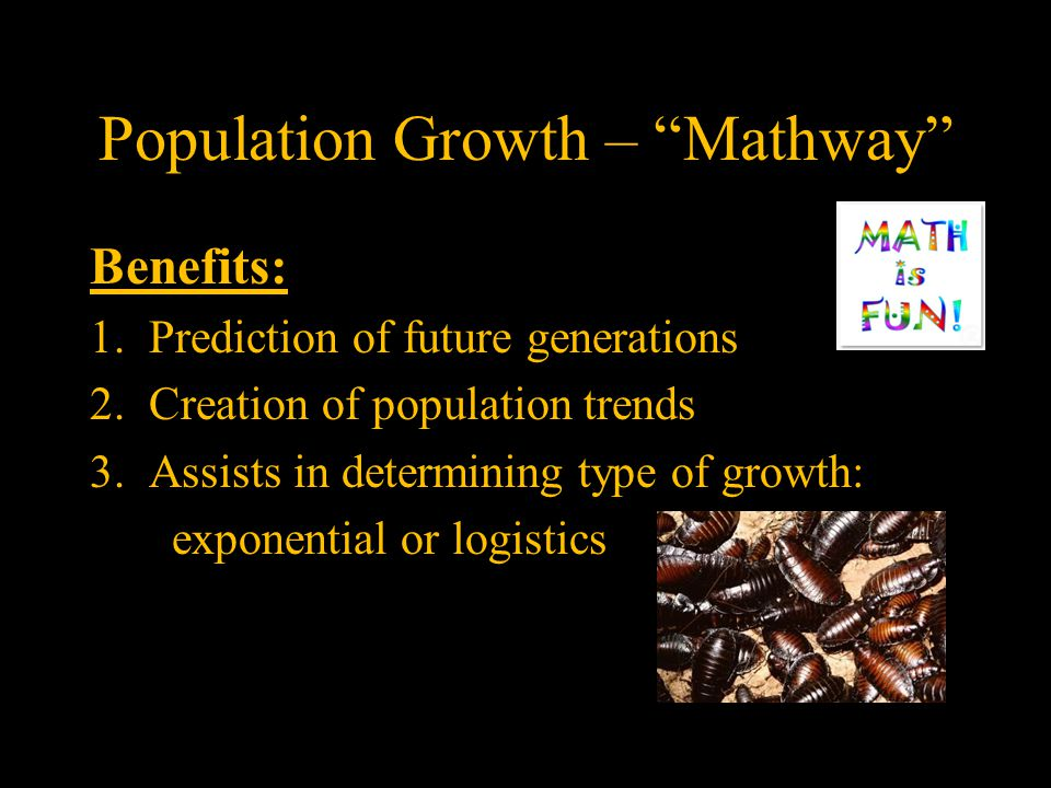 Population Growth – Mathway