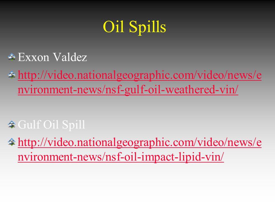 Oil Spills Exxon Valdez