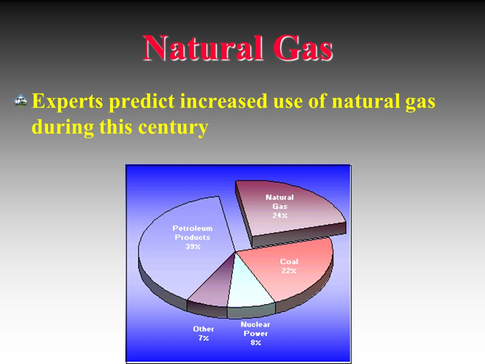 Natural Gas Experts predict increased use of natural gas during this century