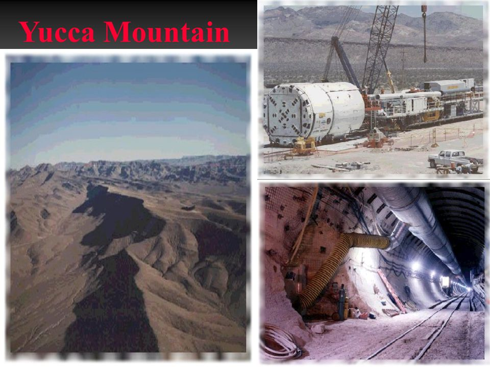 Yucca Mountain www.geology.fau.edu/course_info/fall02/ EVR3019/Nuclear_Waste.ppt