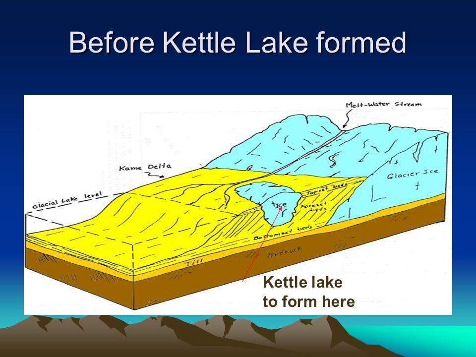 Before Kettle Lake formed