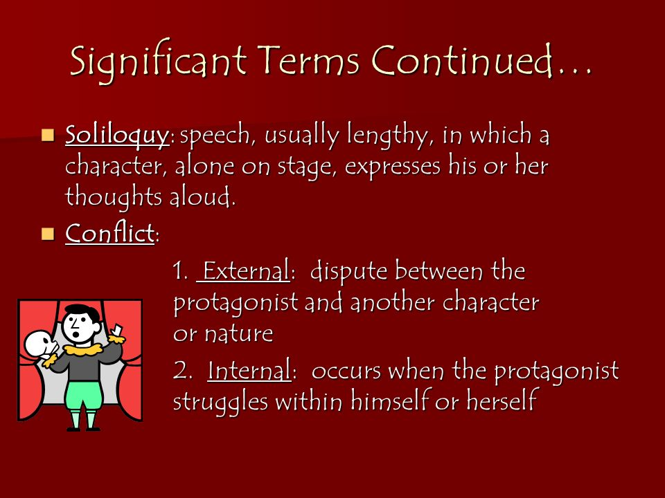 Significant Terms Continued…