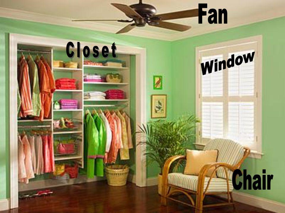 Fan Closet Window Chair
