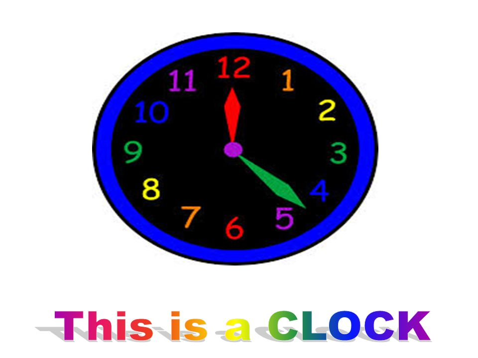 This is a CLOCK