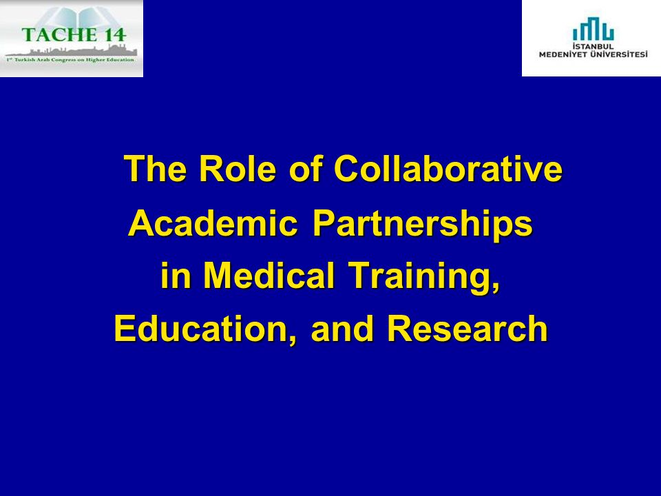 Academic Partnerships Education, and Research