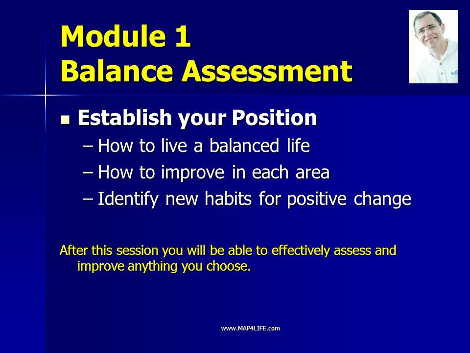 Module 1 Balance Assessment