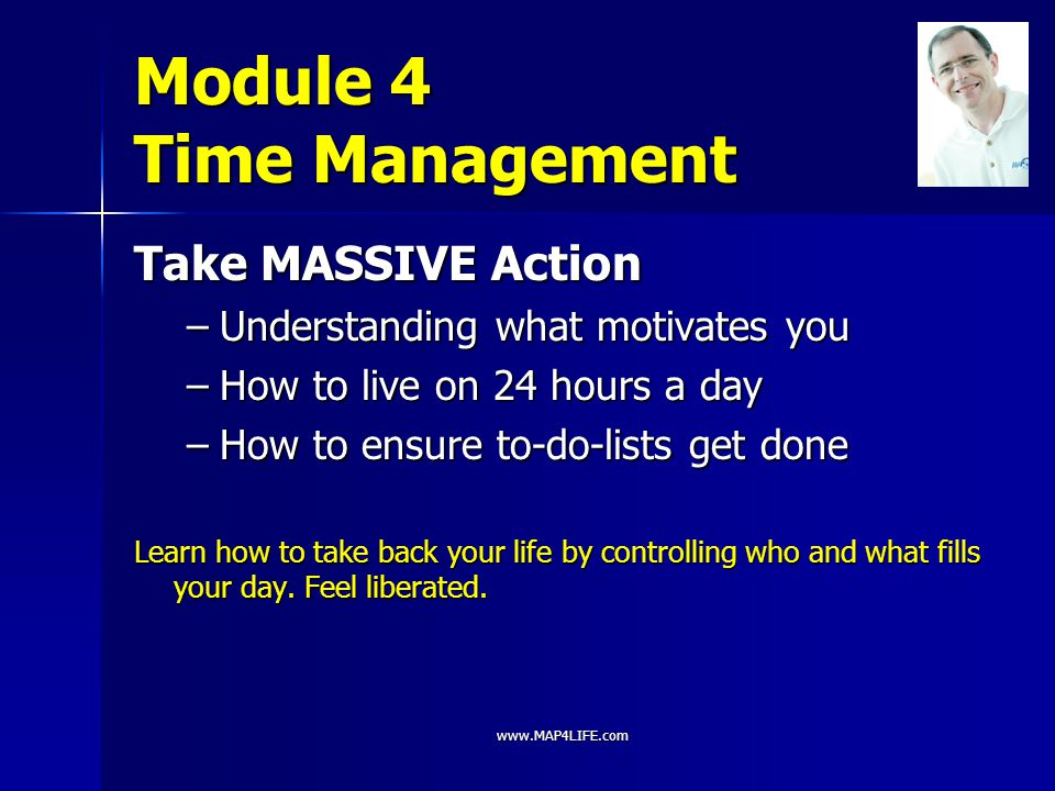 Module 4 Time Management