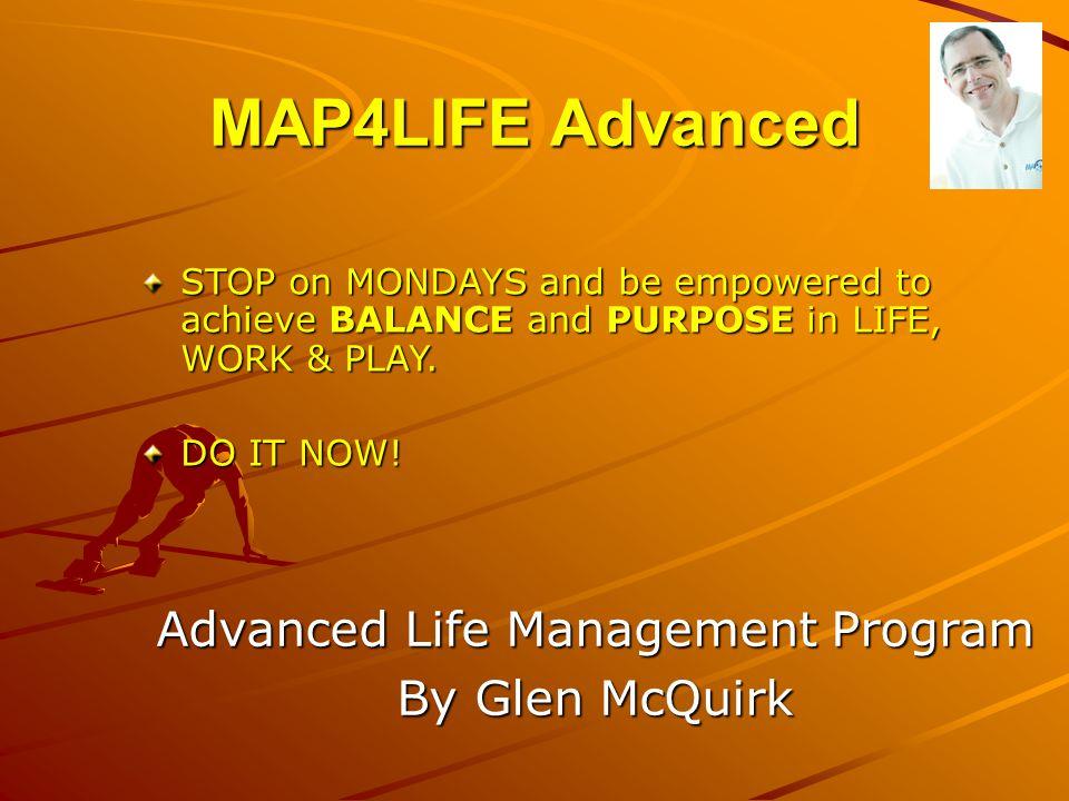Advanced Life Management Program By Glen McQuirk