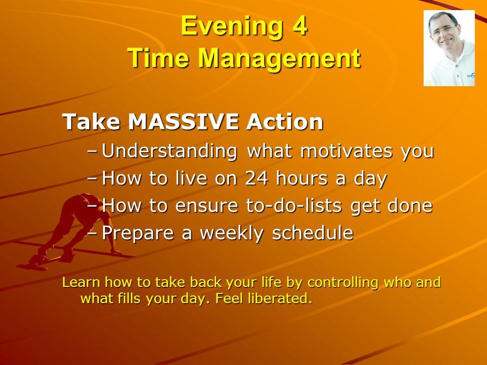 Evening 4 Time Management