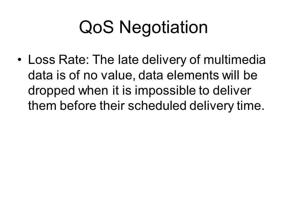 QoS Negotiation